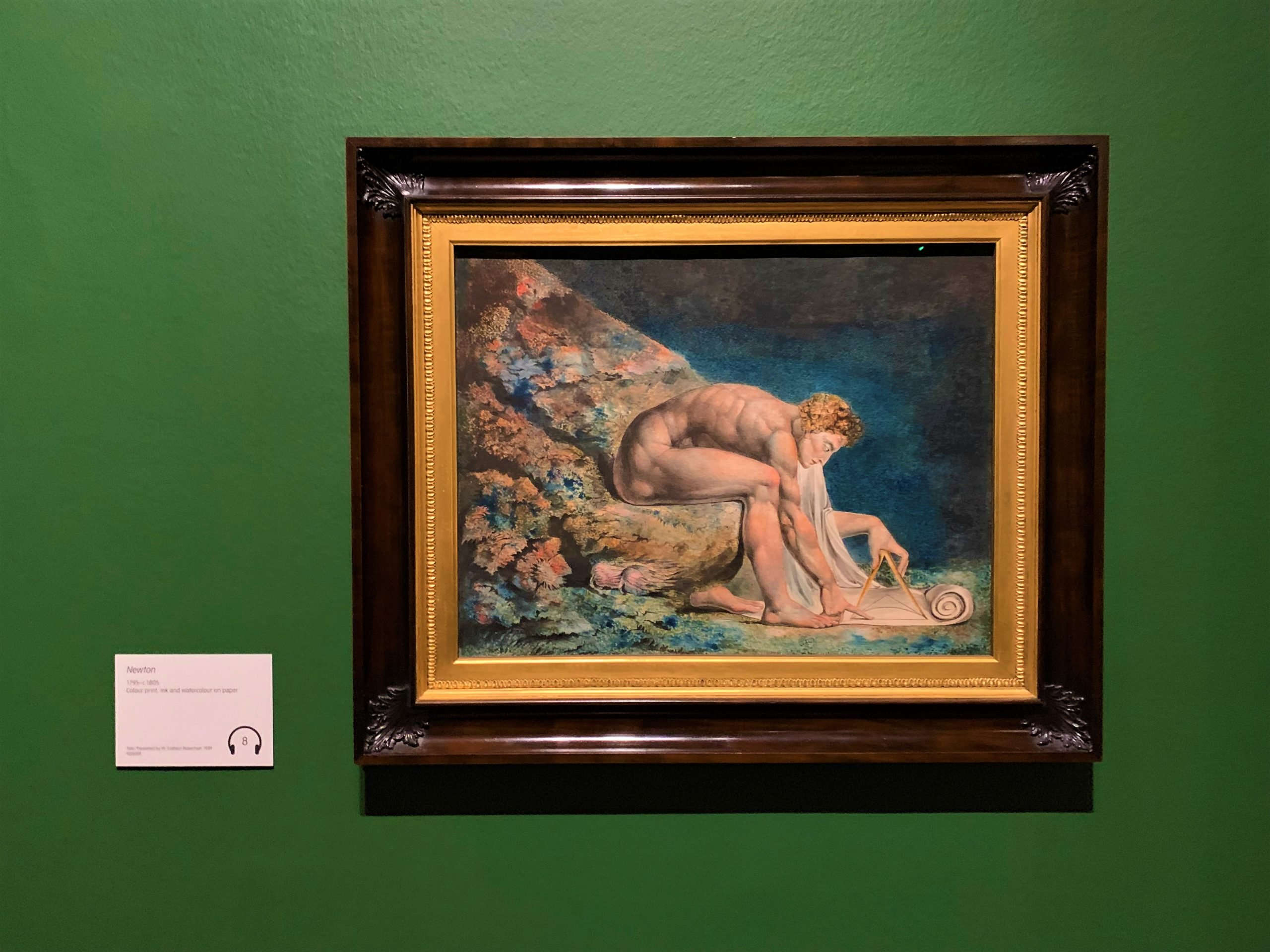 EgoSumArt visits William Blake Exhibition at the Tate Britain, London