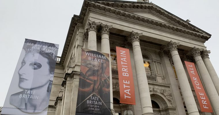 EgoSumArt visits Paul Nash, JMW Turner and other greats, at the Tate Britain, London